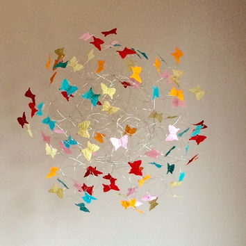 Baby Mobiles, Nursery Mobiles, Kids Room Decor, Playroom Decor, Baby Mobiles Hanging, Butterfly Mobiles
