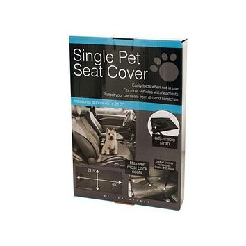 Single Pet Auto Seat Cover ( Case of 12 )