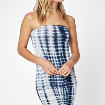 LA Hearts Tube Top Midi Dress at PacSun.com