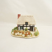 "Vintage Lilliput Lane ""Riverview Cottage"", Collectable Lilliput Lane Miniature"
