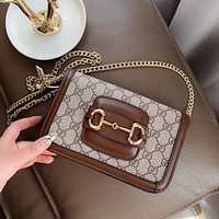 GUCCI GG Marmont Classic Wild Chain Bag Shoulder Bag Crossbody Bag