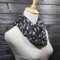 Big Sale.Cat Silk Infinity Scarf Cats infinity chiffon Scarf infinity womens scarves winter scarf long scarf gift fot her