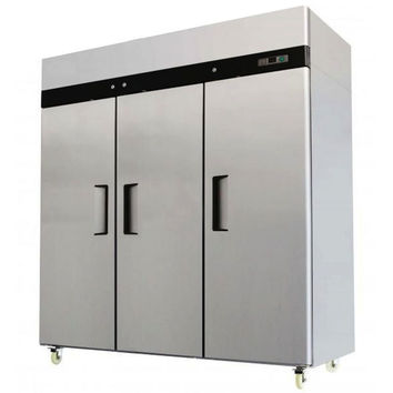 3 Door Stainless Steel Reach In Commercial Refrigerator MBF-8006