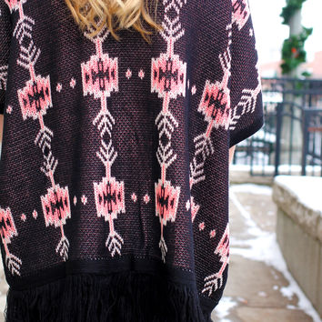 Girl Talk Tribal Cardi