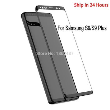 Tempered Glass For Samsung Galaxy S9 S9 Plus 3D Screen Protector Glass For Galaxy S8 S8+ Note 8 Protective Film