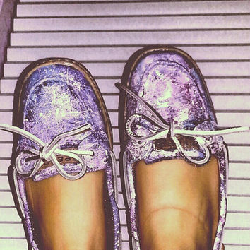 Hand-Painted Sperry Boat Shoes