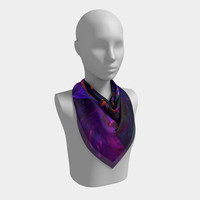 Color Twister - Scarf, Scarves, Women's Scarf, Fashion Accessory, Fashion Accent, Gift Idea, Gift for Her, Rich Colors, Abstract Design