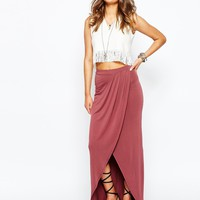 New Look Split Front Maxi Skirt