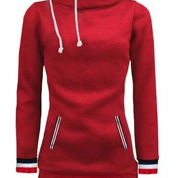 Red Slim Sweater