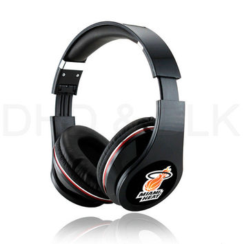 Miami Heat Headphones with mic Sp 2015