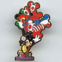 Epcot 20 Years of Discovery Mickey Balloons Disney PIN