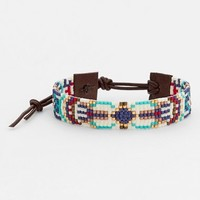 Women's Chan Luu Beaded Leather Bracelet