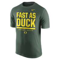 Nike College Legend Local Verbiage (Oregon) Men's T-Shirt Size Medium (Green)