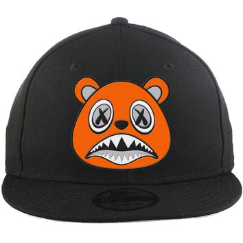 Orange Baws - New Era 9Fifty Black Snapback Hat