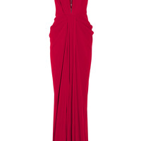 Thakoon - Draped satin-crepe gown
