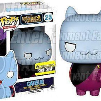 Funko Pop Animation: Bravest Warriors - Commander Catbug Exclusive Vinyl Figure