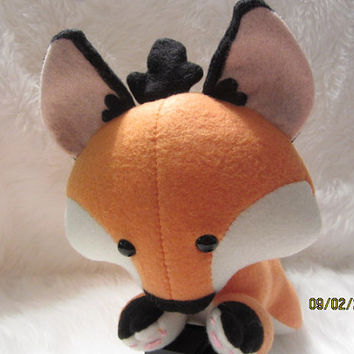 "Medium 16"" Orange Fox Plush"