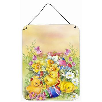 Easter Chicks and Eggs Wall or Door Hanging Prints APH5613DS1216