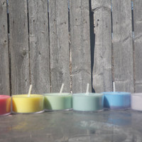 Half dozen Soy tea light Candles