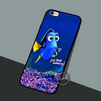 Keep Swimming Baby Dory - iPhone 7 6 5 SE Cases & Covers