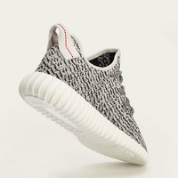 Adidas Mens Yeezy Boost 350 Turtle/Blue-Gray Fabric Size 8