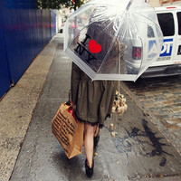 topfashion — I love NY Rain Umbrella