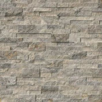 MS International, Trevi Gray Ledger Panel 6 in. x 24 in. Natural Travertine Wall Tile (10 cases / 60 sq. ft. / pallet), LHDPNLTTRG624 at The Home Depot - Mobile