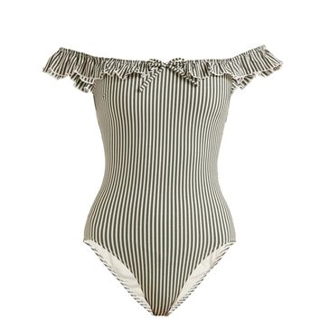 The Amelia off-the-shoulder swimsuit | Solid & Striped | MATCHESFASHION.COM UK