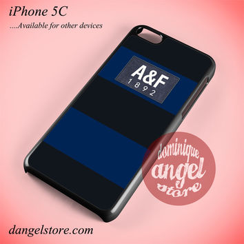 Dark Blue Abercrombie And Fitch Phone case for iPhone 5C and another iPhone devices