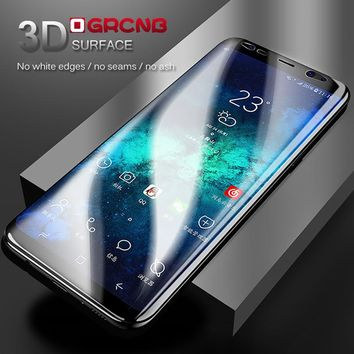 Full Cover Soft Protective Film For Samsung Galaxy S8 S8 Plus S7 Edge Screen Protector For Samsung S8 ( Not Tempered Glass )