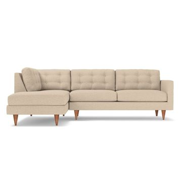 Logan 2pc Sectional LAF in WOVEN BEACH - CLEARANCE