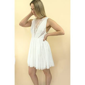 Arie Dress - white