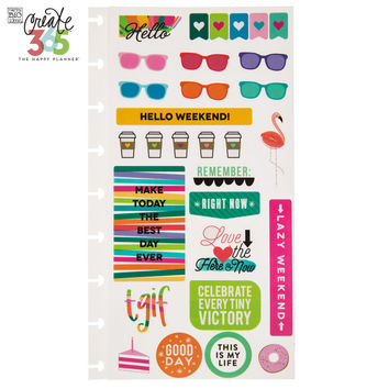 TGIF Create 365 Happy Planner Stickers | Hobby Lobby | 1422955