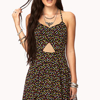 Flower Power Cutout Dress