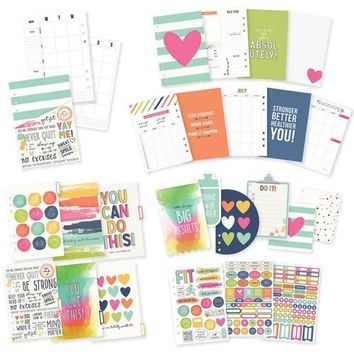 Simple Stories Carpe Diem Fitness Collection A5 Planner Insert