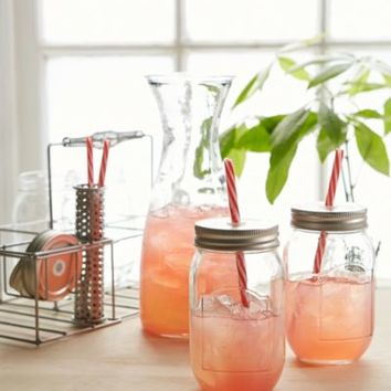 Mason Jar And Pitcher Party Set- Multi One