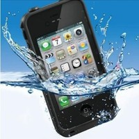 New Lifeproof Waterproof Shockproof and Dirtproof Case for Iphone 4 4s Lifeproof Case(color Random):Amazon:Cell Phones & Accessories