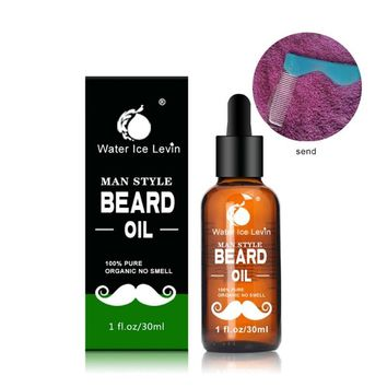 Beard Oil With Comb Set
