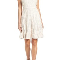 Vince Camuto Lace Fit & Flare Dress | Nordstrom