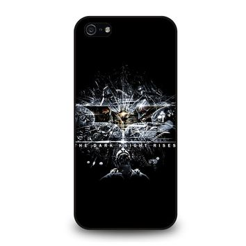 CRACKED OUT GLASS BATMAN THE DARK KNIGHT 1 iPhone 5 / 5S / SE Case