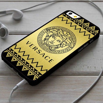 Versace Chevron Gold Edition iPhone 6|6 Plus Case Dollarscase.com