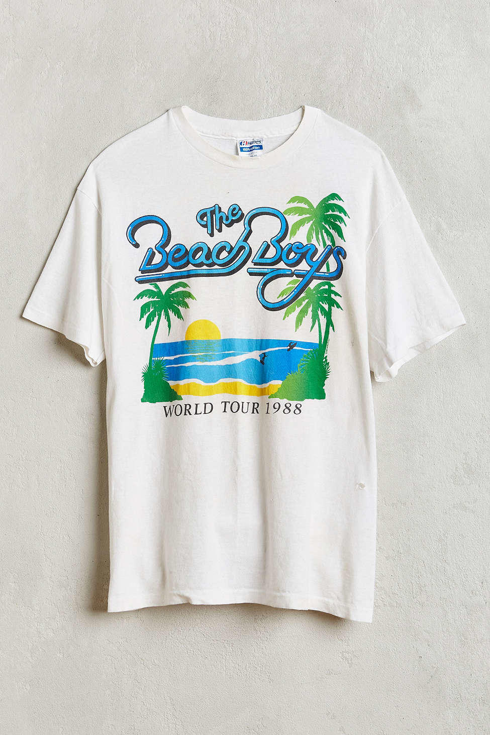 Vintage Beach Boys Tee Urban Outfitters From Urban