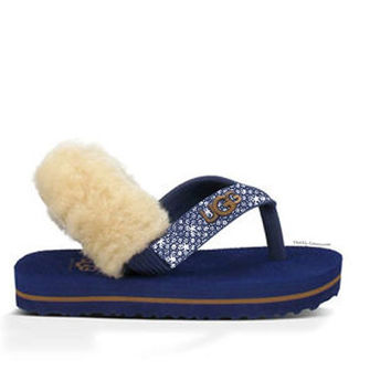 Baby Yia Yia ,Blue Baby Sandals