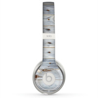 The Light Tinted Wooden Planks Skin for the Beats by Dre Solo 2 Headphones