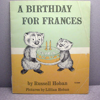A Birthday for Frances Vintage Childrens Book and by VintageWoods
