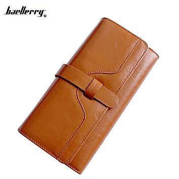 Wallet Women Luxury Brand Women Wallets and Purse Long Credit Card Holder Genuine Leather Clutch Female Zipper Feminina Carteira