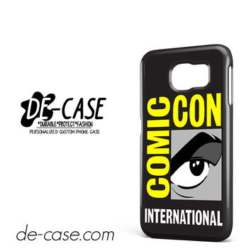 Comic Con Logo DEAL-2808 Samsung Phonecase Cover For Samsung Galaxy S6 / S6 Edge / S6 Edge Plus
