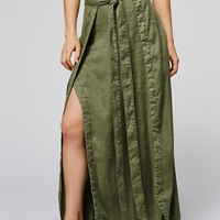 Free People American Ride Maxi Skirt