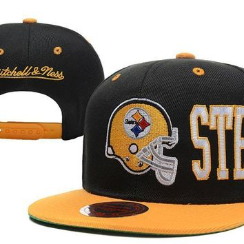 PEAPON Pittsburgh Steelers Snapback NFL Football Hat M&N