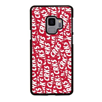 CROOKS AND CASTLES CAN'T RESIST Samsung Galaxy S4 S5 S6 S7 S8 S9 Edge Plus Note 3 4 5 8 Case Cover